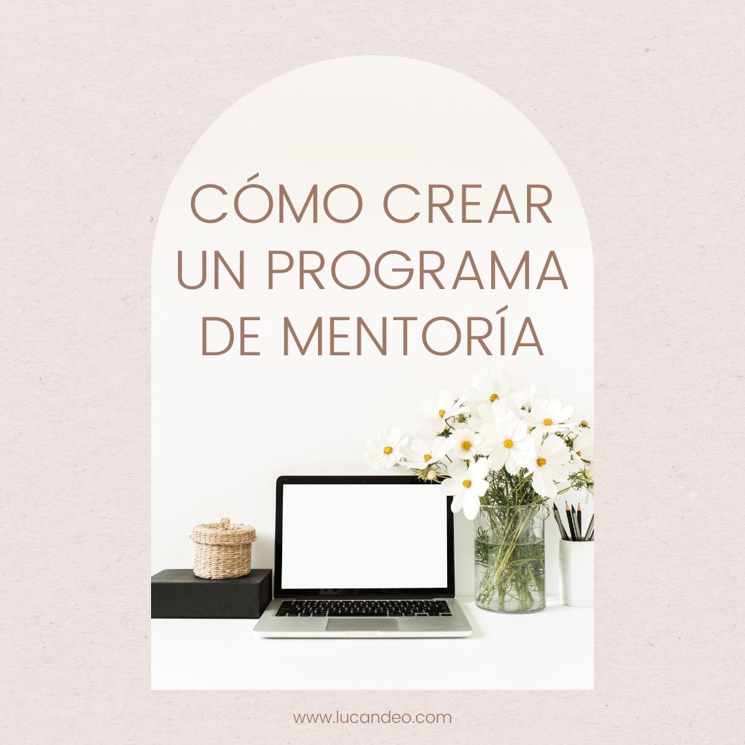 Como crear tu programa de mentoría